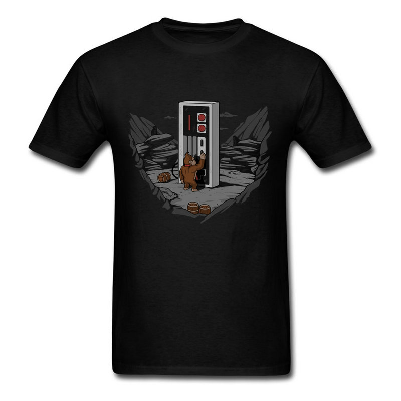 Crewneck T Shirt Men Classical Dawn Of Gaming Top Tee Men Popular Tee Shirts 3D Men