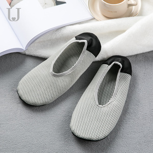 Image 3 - Youpin Jordan&Judy Foldable Ultra Light Shoes Home Casual Slippers Breathable Polyester Mesh Antibacterial Deodorant Shoes