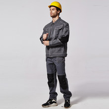 Work Clothing Men Uniform Long Sleeve Jackets And Pants Protective Cloth Suit Set Worker Repairman Machine Auto Repair Welding(China)