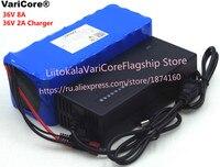 VariCore 36 В 8Ah 10S4P 18650 перезаряжаемые батарея, изменение велосипеды, электрический автомобиль защиты с PCB + 2A зарядное устройство