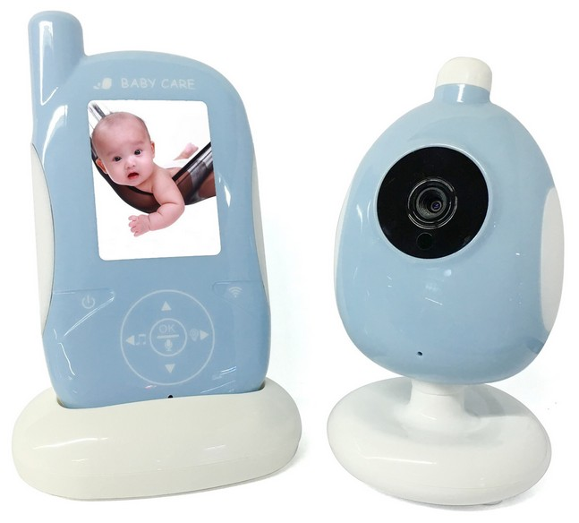 2017 New 2.4 Inch Wireless Baby Monitor Night Vision Nanny Security Baby Camera Temperature Monitoring Babyphone Video Camera wireless baby monitor vb601 with camera for the night vision bebek telsiz telsizleri babyfoon met babyphone video detector