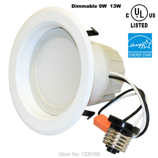 energy star ul listed dimmable led downlight recessed lighting