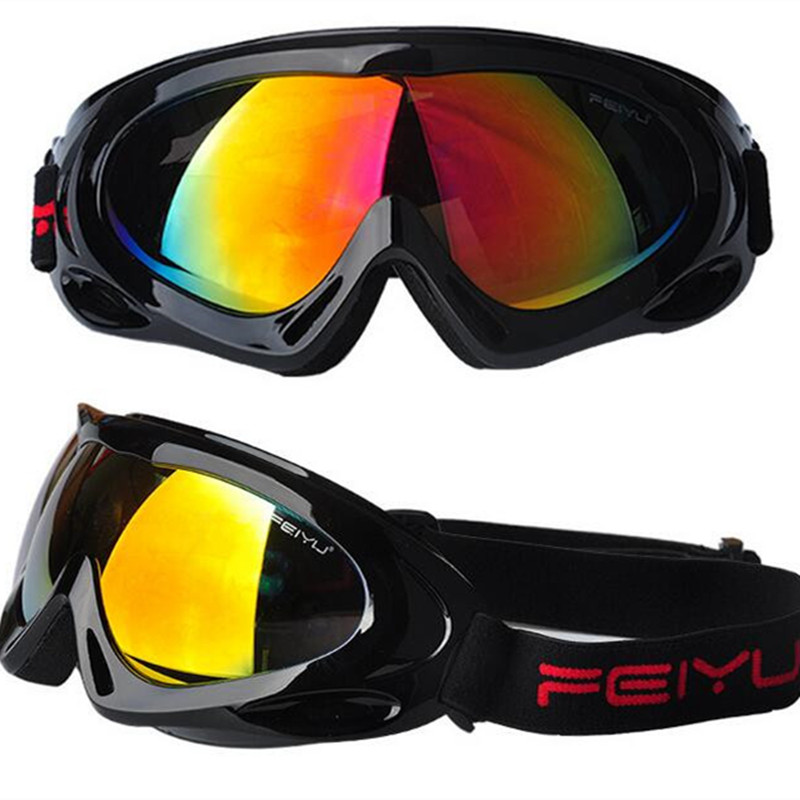 Security & Protection Outdoor Professional Snow Skiing Goggles Men Women Uv400 Anti-fog Glasses Snowboard Protection Skate Ski Eyewear Kids Gafas