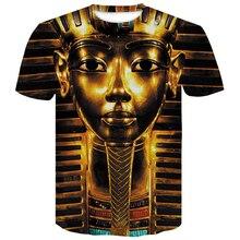 Egyptian Pharaoh 3D Print T-Shirt Men Fitness Hip Hop Tops Various Summer Elegant T Shirt Casual Monster Style Harajuku Tshirt