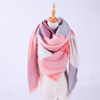 WOMAIL Women Vintage Lattice Fringe Square Long Wrap Shawl Scarf Scarves Stole Cape Blanket Scarf Square FEB2 G25D40 stole