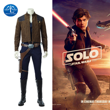 Manluyunxiao Han Solo Cosplay Halloween Costumes For Men Movie A Star Wars Story Full Suits Masquerade Outfit Custom Made