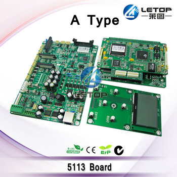 A Set Single Head 5113 LeCai Mainboard Headboard Keyboard Driver Board For Eco Solvent 5113 Inkjet Printer 5113 Board
