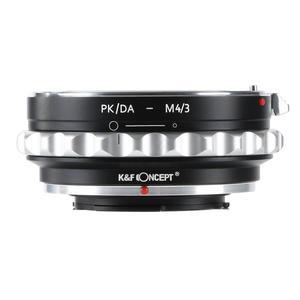 Image 1 - K&F Concept adapter for Pentax DA PK mount lens to Micro 4/3  Camera Body for OlympusPanasonnic G1/G2/GF1  M43 E P1/E P2/E PL1