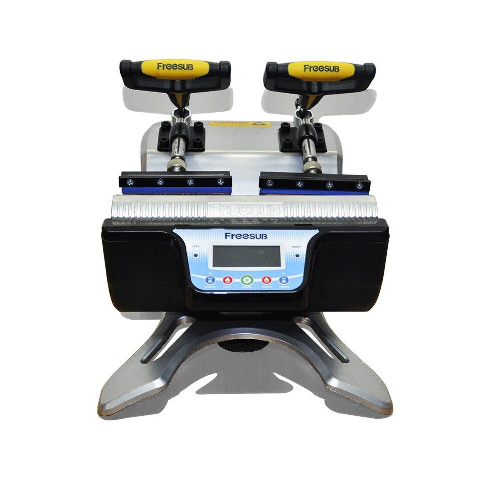 Двойной Станции кружка Пресс тепла Пресс машины чашку сублимационной печати передача