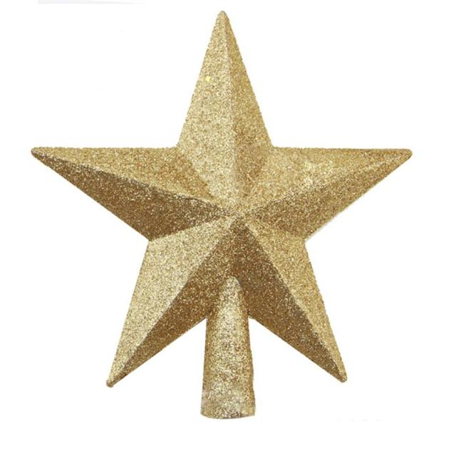 christmas tree top star christmas star tree topper for table christmas ornament xmas decorative party event