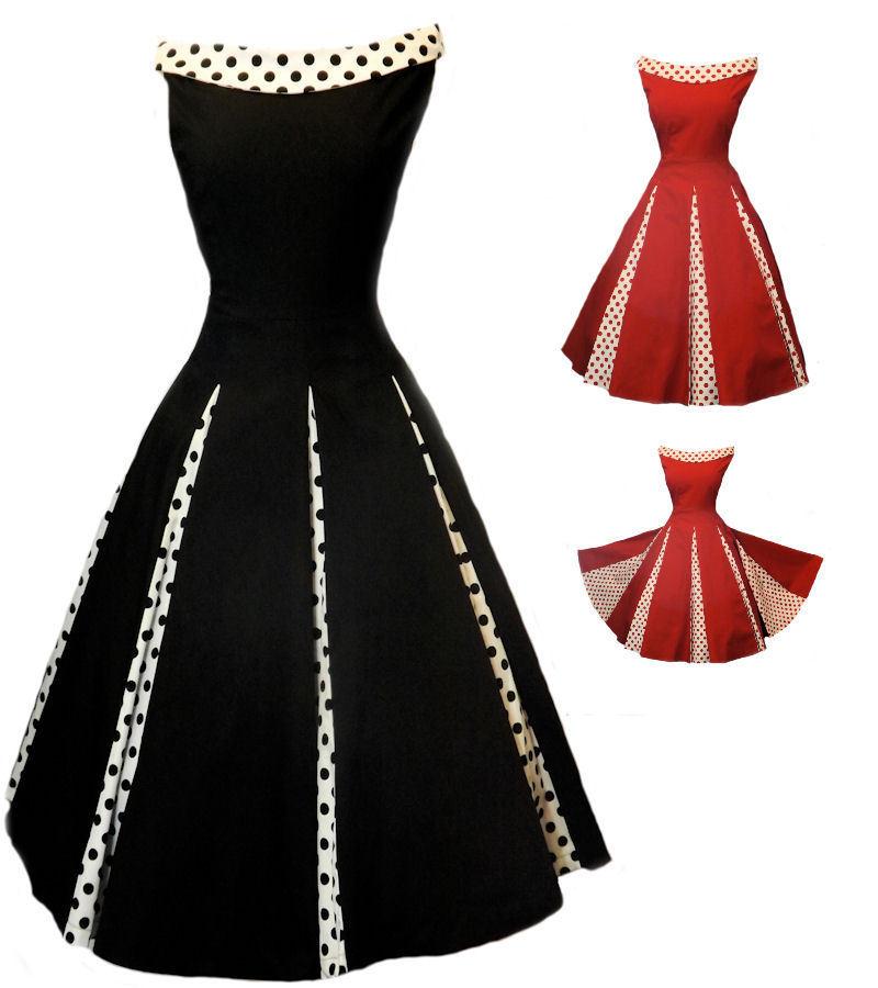 Buy Cheap 2014 best Tropical Hawaiian Print Chifon Dress Rockabilly 1950's Size