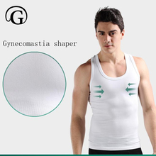 Brust heißen Gynecomastia top-körper-former tops Compression männer unterhemd abnehmen bier bauch bauch trimmer shaper sleeveless shirts