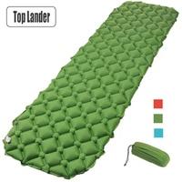 Air Mattress Sleeping Pad Camping Mat Ultralight TPU Outdoor Inflatable Bed 420g Portable Blanket Moistureproof Pad
