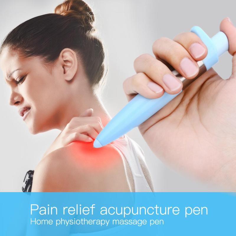 Electronic acupuncture needle Magnet Therapy Meridian pulse Massage Energy Pen Laser Pain Relief Body Massage L3 portable handhled electronic pulse analgesia pen body pain relief acupuncture point massage pen massager for parent gift