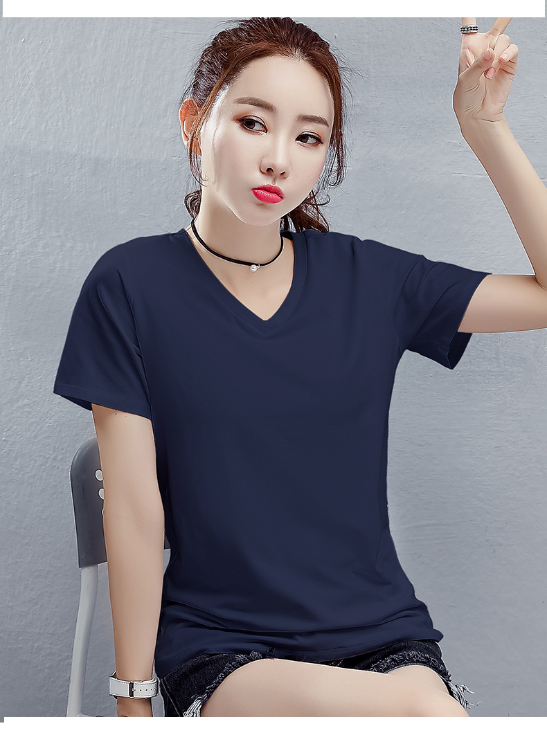 Ladies advanced cotton comfortable and short sleeved