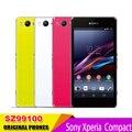 "Sony xperia z1 compact d5503 z1 mini teléfono móvil abierto original 4.3 ""GSM 3G y 4G Android Quad-Core WIFI GPS 2 GB RAM 16 GB ROM"