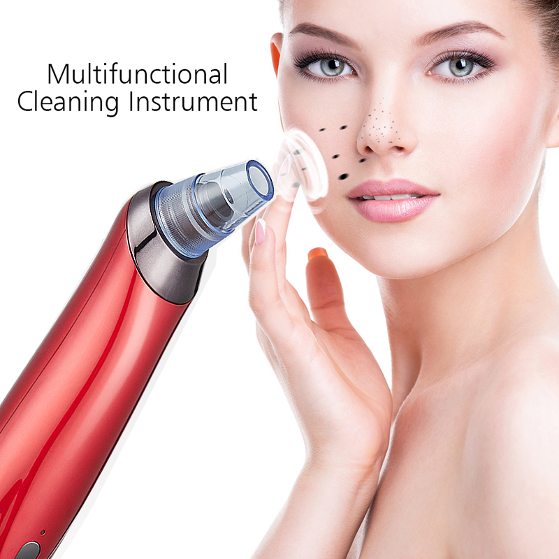Blackhead Remover Face Skin Care Tool Blackhead Vacuum Cleaner Suction Removal Acne Pore Vacuum Peeling Face Cleaning Machine in Face Skin Care Tools from Beauty Health