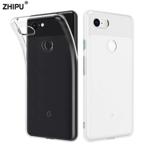 Case For Google Pixel 3 3XL TPU Silicon Durable Clear Fitted Bumper Soft Case for Google Pixel 2 2 XL Transparent Back Cover