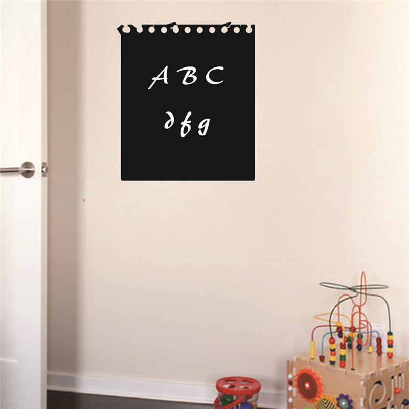 wall decoration blackboard sticker removable vinyl wall sticker