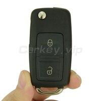 Lật xe từ xa key cho VW cho Volkswagen Golf Lupo Passat Polo 2 nút 1J0 959 753 N ID48 chip 433 Mhz remotekey