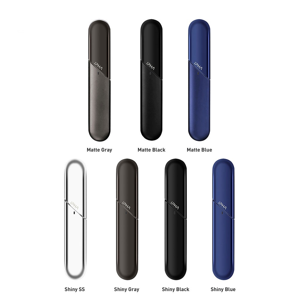 Tout nouveau Kit de Vape à dosette iphone Swis avec batterie 300 mAh et Kit de maturation à cartouche de capacité 0.7 ml