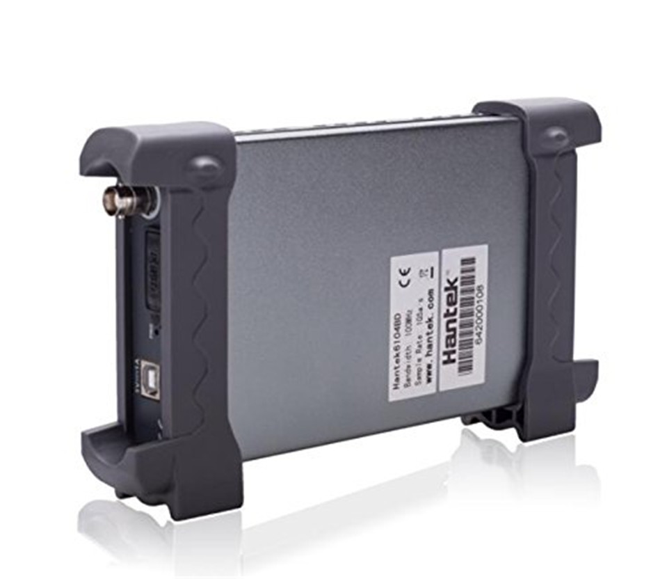 Hantek 6104BC PC USB Oscilloscope 4 Independent Analog Digital Channels 100MHz Bandwidth 1GSa/s 2mV-10V/DIV input sensitivity
