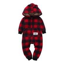 casaco infantil bebes girl snow clothes Winter Rompers font b hoodies b font roupa font b