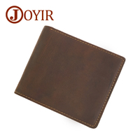 Famous Brand Genuine Leather Men Wallet Leather Man Short Wallet VintageMale Purse Wallet Designer Men Small