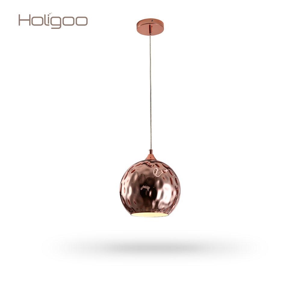 все цены на Holigoo Glass Ball Pendant Lights Globe Lampshade Pendant Lamp Kitchen Hanging Lamp Light Fixture Lustre Led Ceiling luminaire