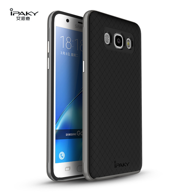 new arrival 77dfd 7fa85 US $7.36 |For Samsung Galaxy J5 2016 Case Cover Original Ipaky PC Frame TPU  Phone Case for Samsung Galaxy J5 2016 J510FN J510F Back Cover-in Fitted ...