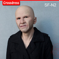 SF N2 silicone true people mask costume mask human face mask silicone dropshipping