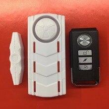 Беспроводной дверной контакт меганетический датчик вибрации сигнализации со звуком и светом