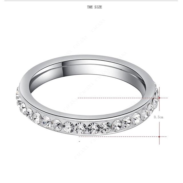 женские кольца из нержавеющей стали dotifi серебряное/золотое фотография