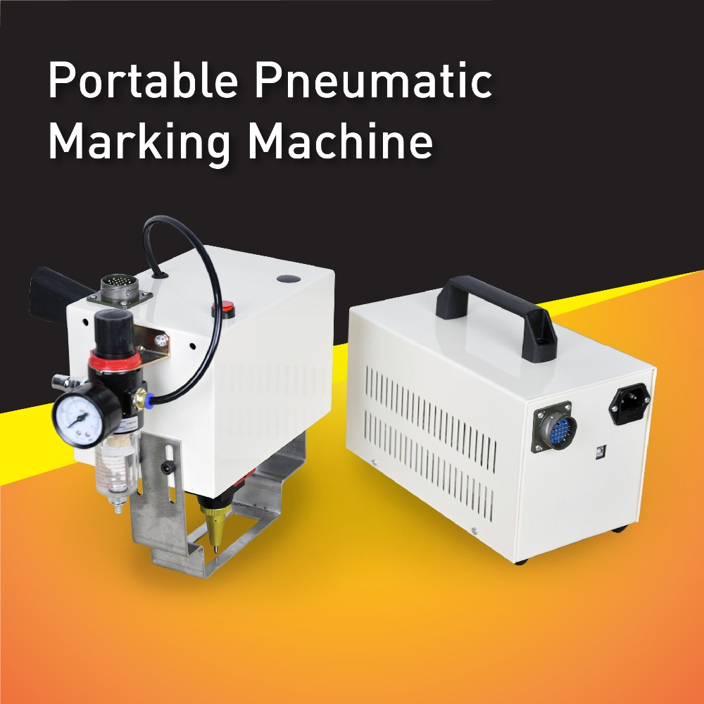 Cost Effective Pneumatic Portable Dot Peen Marking Machine,High Quality Dot Pin Marker With Small Engraving  Head mp marking machine for nameplate metal machine pin marker dot peen engraving machine for metal parts