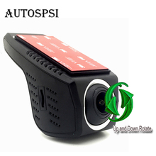 AUTOSPSI 2017 New 1080p WIFI dashboard mirror car camera hd dvr recorder 30fps Android&IOS App for all cars