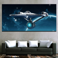 Canvas Posters Wall Art Home Decor For Living Room HD Prints 1 Pieces Star Trek Paintings