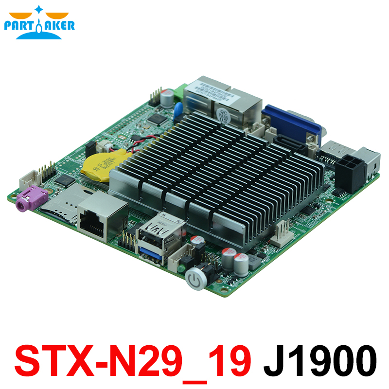 Fanless J1900 Bay trail Nano Motherboard With Dual Lan Quad Core nano itx bay trail mini motherboard dual core n2806 onboard cpu fan 4 i1211 lan mini motherboard