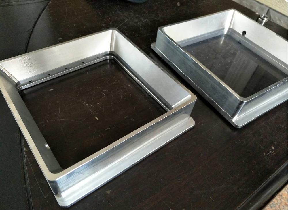 Funssor aluminum alloy Resin Tank High transmittance quartz glass resin tank For DIY Form 1 SLA DLP 3D printer