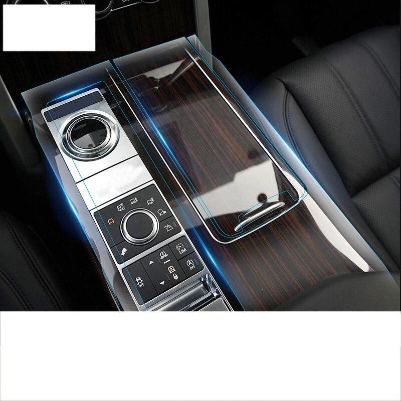Lsrtw2017 HD transparent portable TPU film de protection intérieure de voiture pour range rover vogue 2012 2013 2014 2015 2016 2017 2018 L405