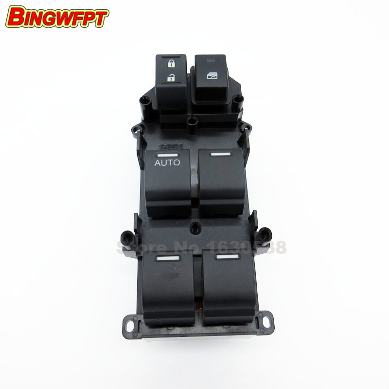 Electric Power Window Lifter Master Control Switch 35750-TB0-H01 35750TB0H01 for Honda Accord 2008 2009 2010 2011 power window lifter switch for mazda6 hatchback gh estate 2007 2008 for electric mirror adjustment switch gs1e 66 350 a
