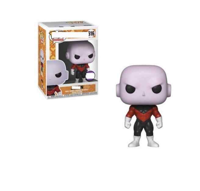 Funko pop Original Amina Brilham no escuro: dragon Ball Z-Super Saiyan Jiren 2019 Action Figure Collectible Modelo Toy