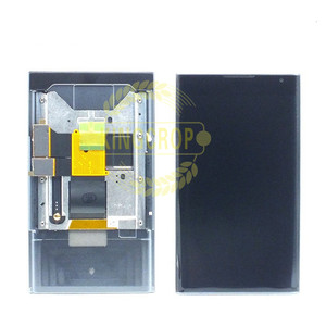 Image 2 - 100% Original For BlackBerry Priv LCD Display Touch Screen Digitizer Assembly With Frame Replacement Parts free shipping