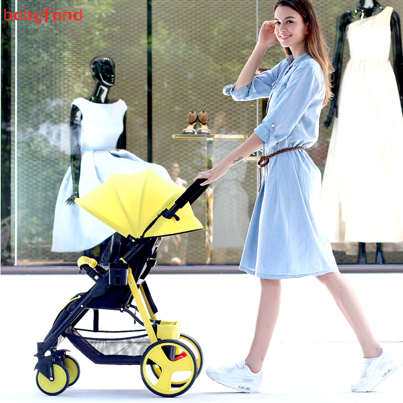 high land view quality travel baby stroller portable car umbrella hadnd baby summer folding stroller 5.9kg weight baby stroller baby stroller ultra light portable shock absorbers bb child summer baby hadnd car umbrella
