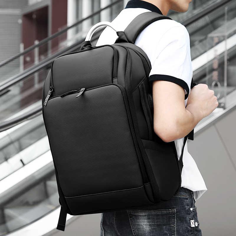 e5cf92eaf2f ... FRN Multifunction High Capacity 17 inch Laptop Backpack USB Charging Men  Mochila Waterproof Casual Travel Backpack