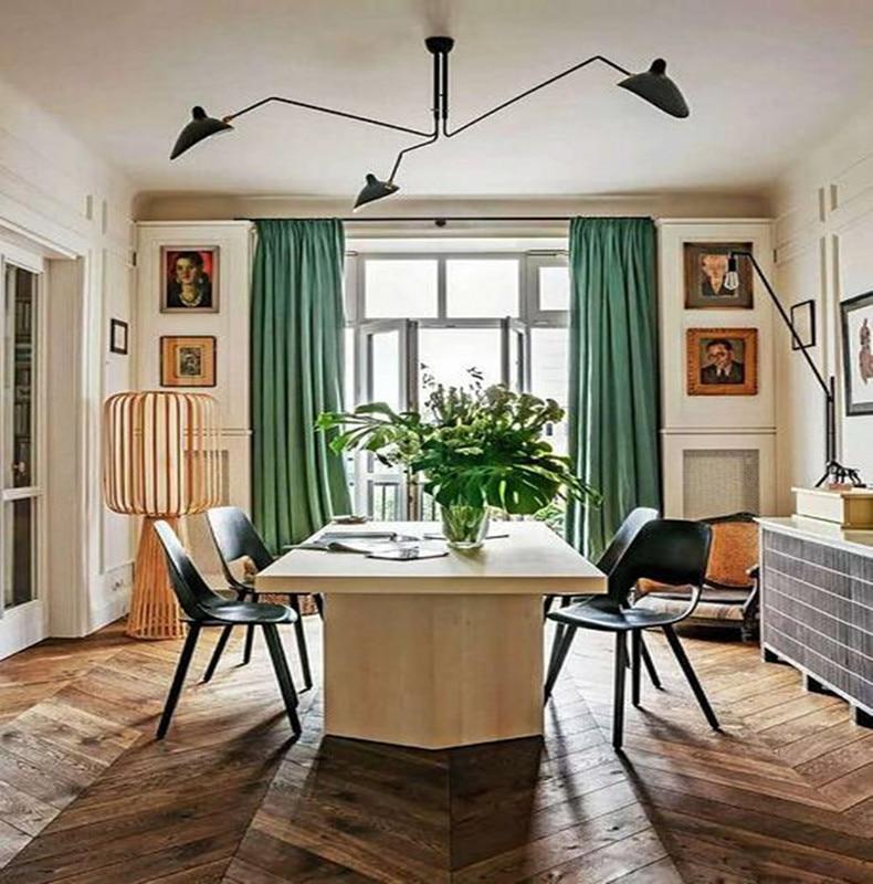 цена на 3 Heads Nordic Art Rotatable Head Study Ceiling Light Creative Concise Duckbill Light Dining Room Led Ceiling Lamp Free Shipping