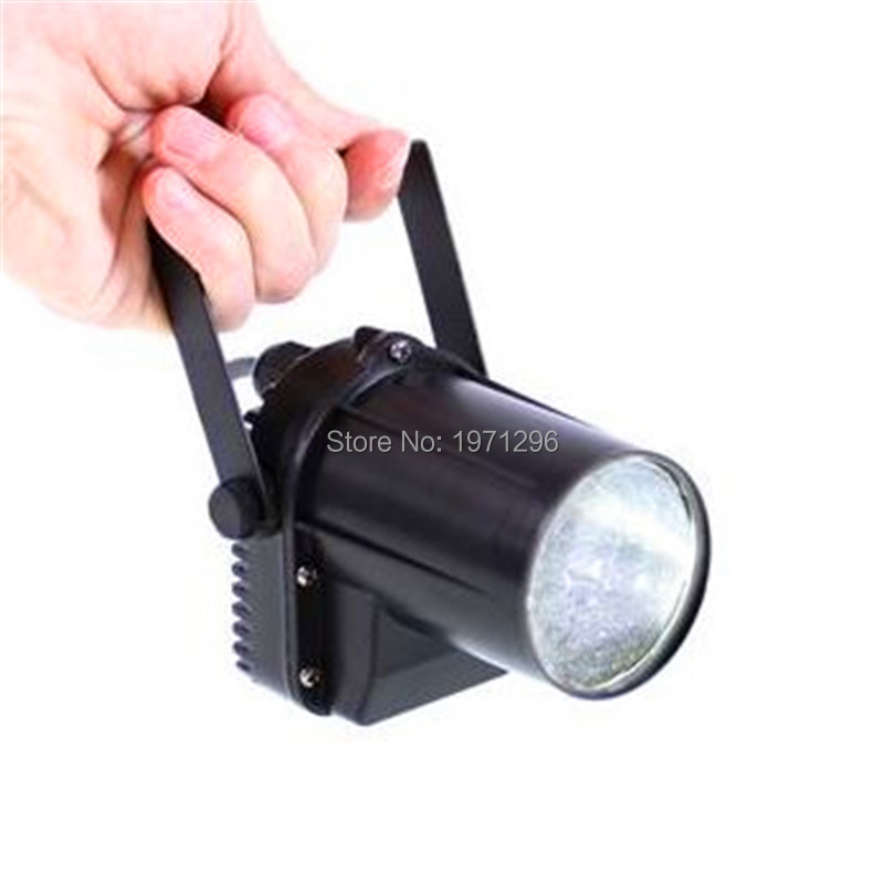 ФОТО 10pcs Supertech 10W 4 IN 1 RGBW DMX512 Sound-Activated With Best Mirror Balls Mini Led Pinspot Light