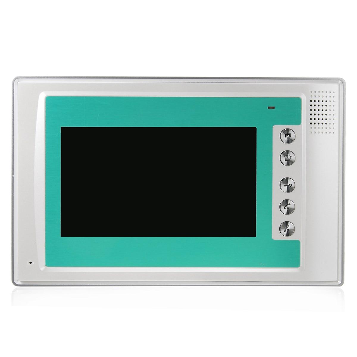 NEW 7\'\' Wire Video Door Phone Doorbell Intercom Camera Monitor ...