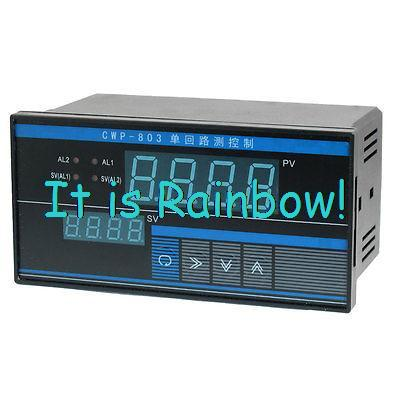 Signal Thermocouple PV SV Display Digital CWP Temperature Controller CWP-T803 dmx512 digital display 24ch dmx address controller dc5v 24v each ch max 3a 8 groups rgb controller