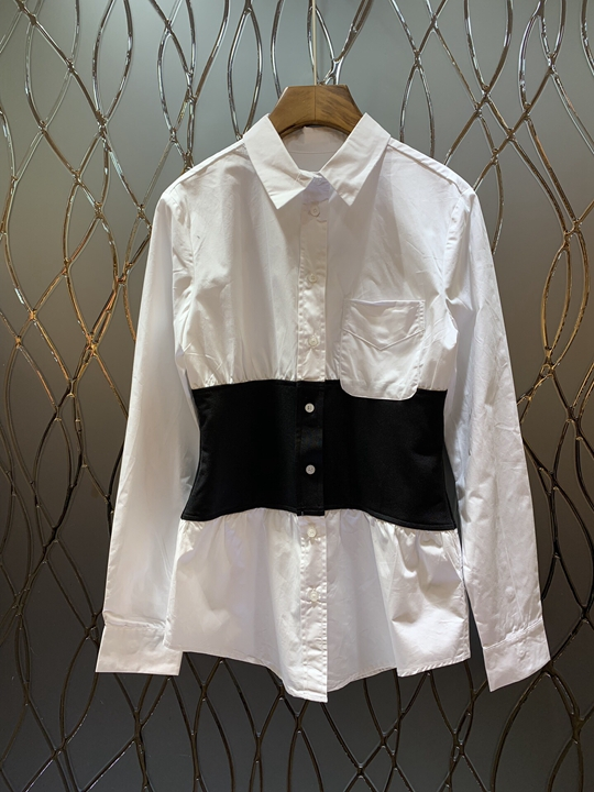 226 Haut Nouveau shirt Revers Mode Femmes Gamme T Charme De 2019 qZOwv5O