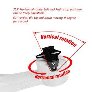 Image 2 - PTZ Beugel Elektrische Roterende Pan Tilt installatie Verticale Roterende RS485 Horizontale Roterende stand houder voor CCTV Camera